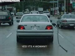 Γυναίκα οδηγός