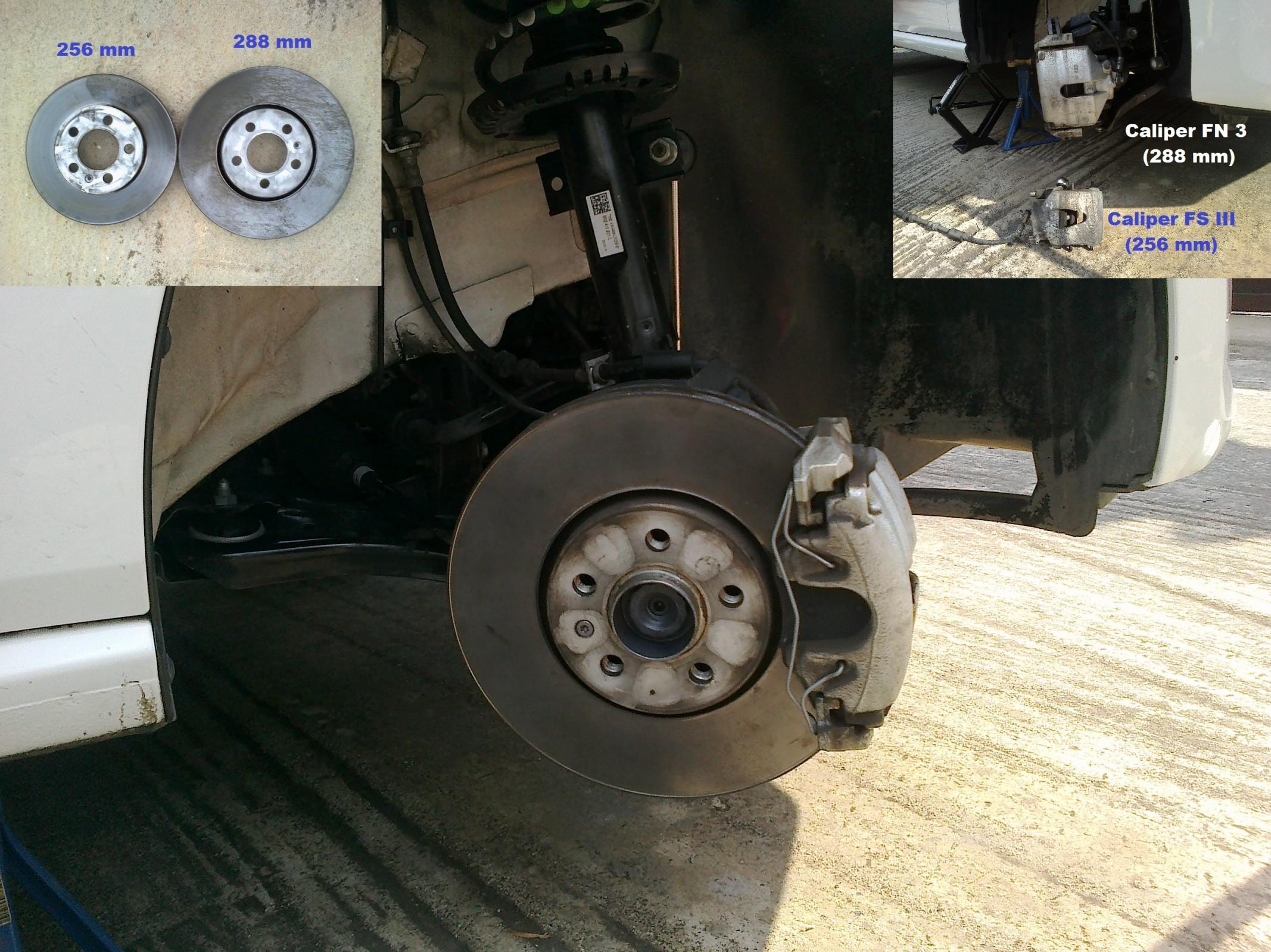 Brake Front 288mm