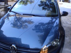 VW Golf Tsi_front side view
